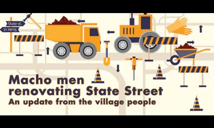 Macho Men Renovating State Street