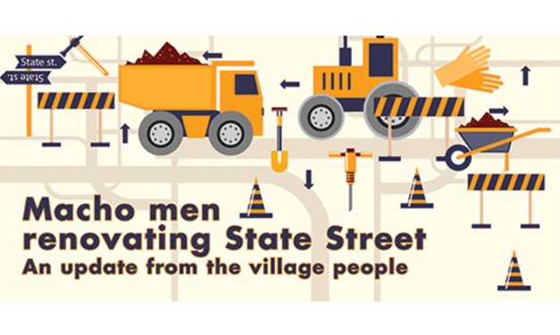 Macho Men Renovating State Street