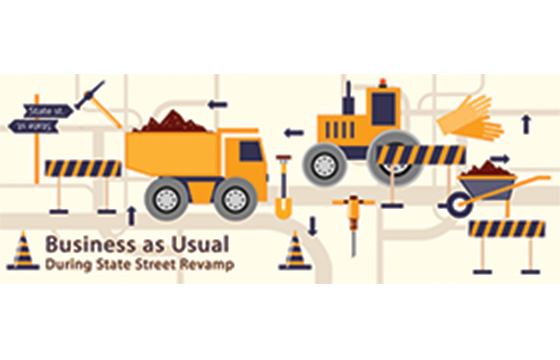 Business as Usual During State Street Revamp