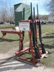 shotguns on tosa range