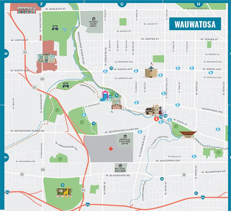 Bublr tosa map