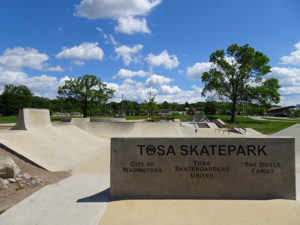 skate park in Tosa