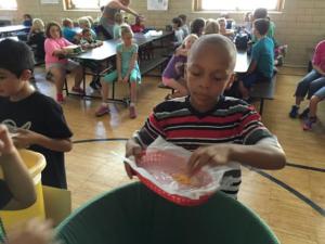kid composting