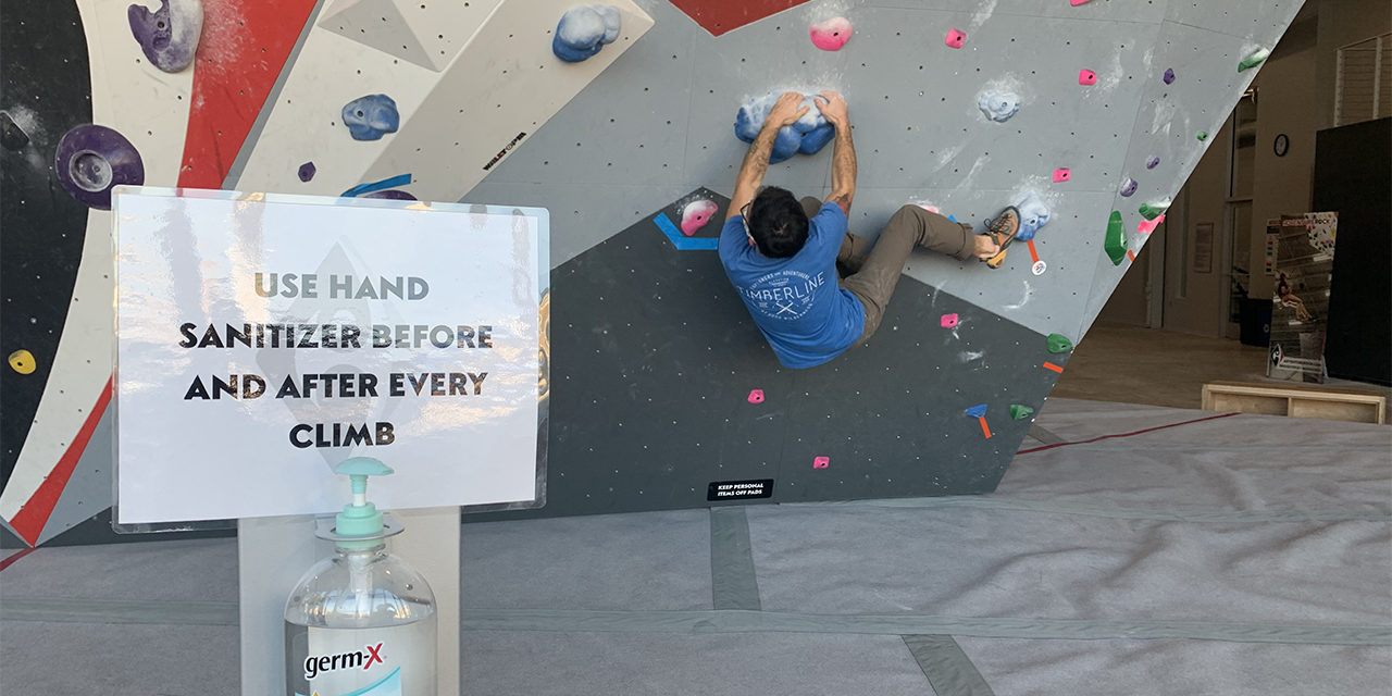 Climbing is awesome for anybody